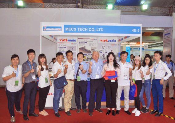Công tyVietsonicvàMesccùng tham gia triễn lãm Plastic&Rubber Viet Nam 2018