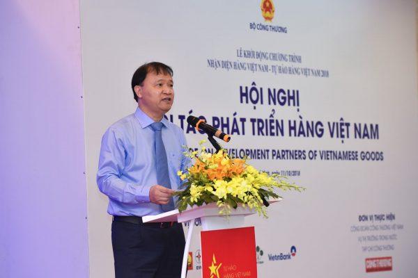 Thứ trưởng Bộ Công Thương,Ông Đỗ Thắng Hảiđánh giá cao các hoạt động của Chương trình