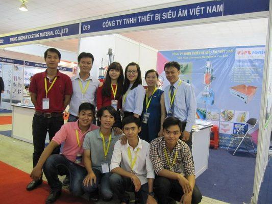 Thành viên Vietsonictham gia triển lãm