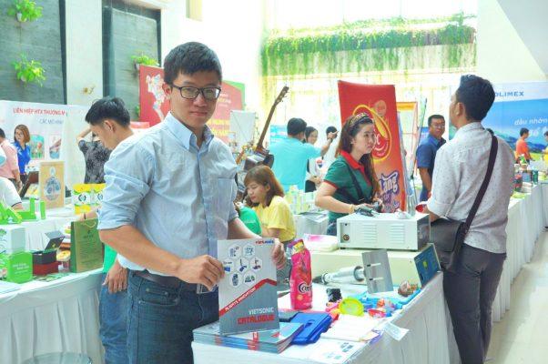 Gian hàng của Công ty TNHH Thiết bị Siêu Âm Việt Nam -VIETSONIC.